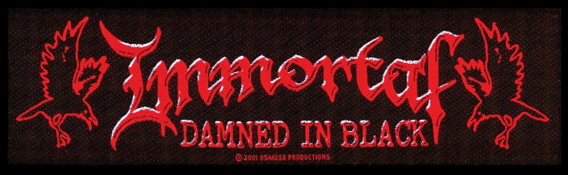 Immortal - Damned in Black (Superstrip Patch)