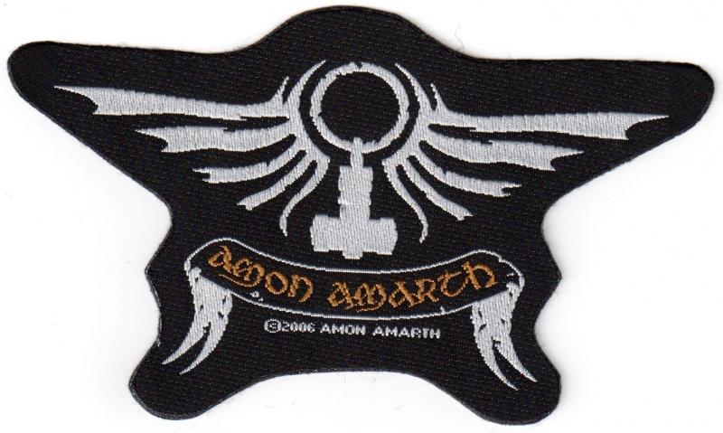 Amon Amarth - Crest Cut-Out (Patch)