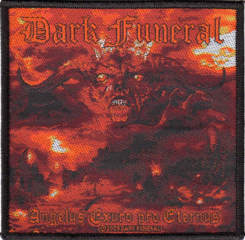 Dark Funeral - Angelus Exuro Pro Eternus (Patch)