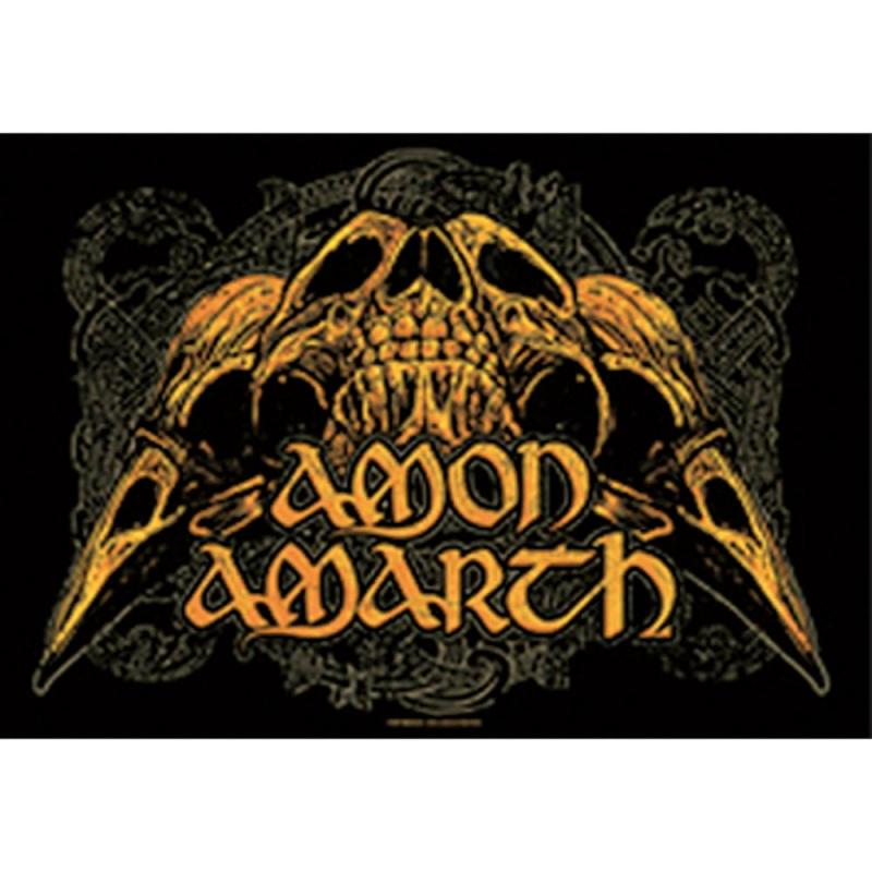Amon Amarth - Skulls (Posterflag)