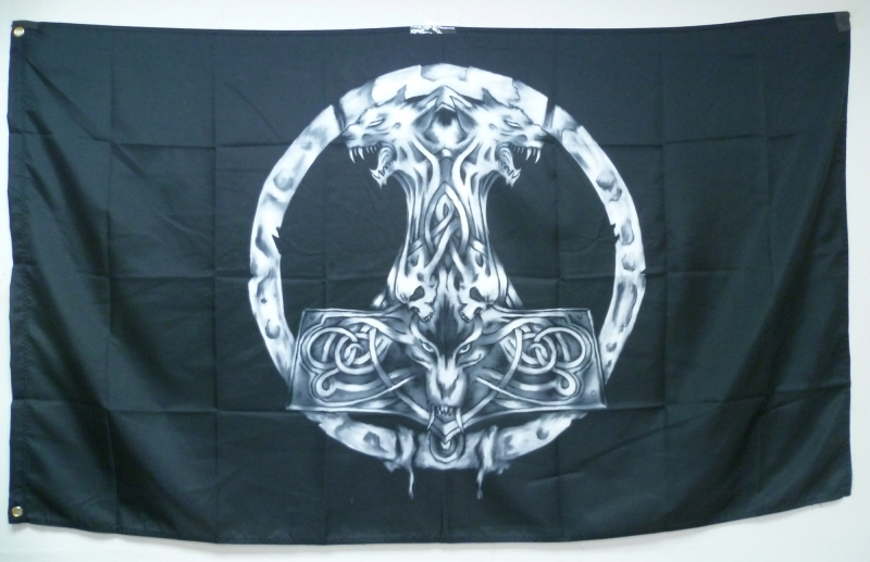 Thor`s Hammer Flag (Vargrimm)