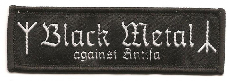 Black Metal against Antifa (Patch)