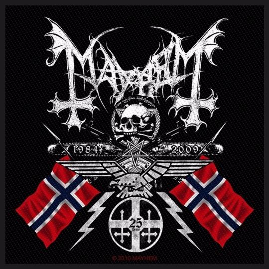 Mayhem - Coat of Arms (Patch)