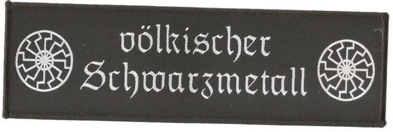 völkischer Schwarzmetall big (Patch)