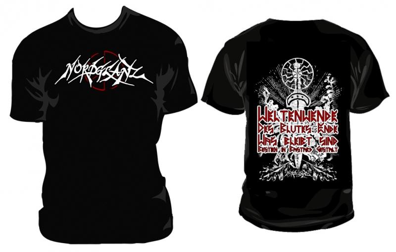 Nordglanz - Weltenwende (T-Shirt)