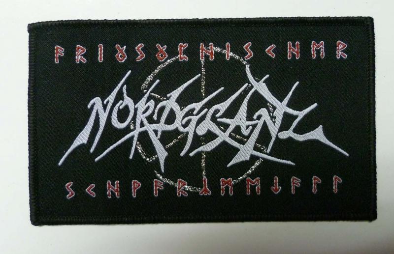 Nordglanz - ariosophischer Schwarzmetall (Patch)