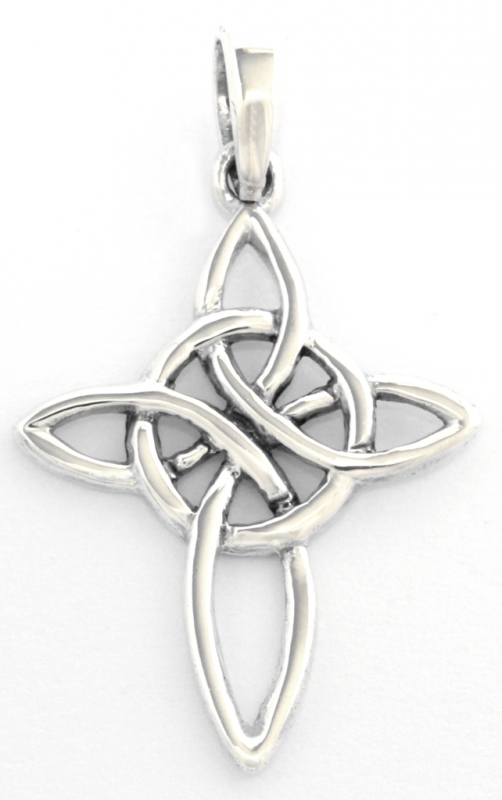Aline - Celtic Cross (Pendant in silver)