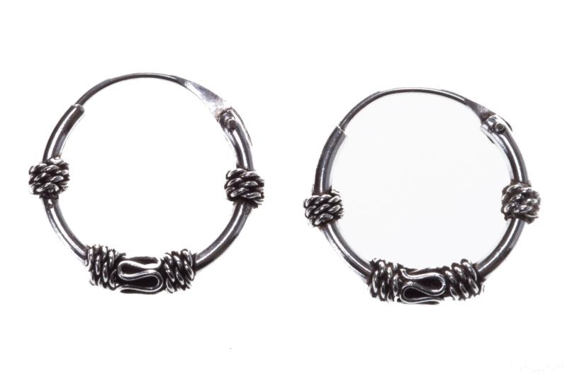 Arica - Hoops (earrings in silver)
