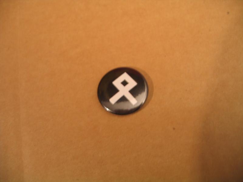 Odal / Othila Rune (Button)