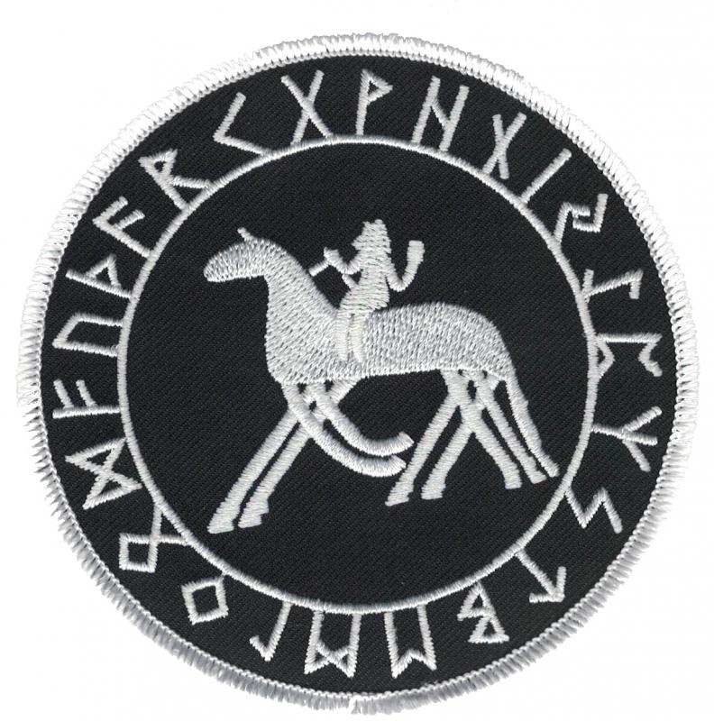Sleipnir in the Rune circle (Patch)