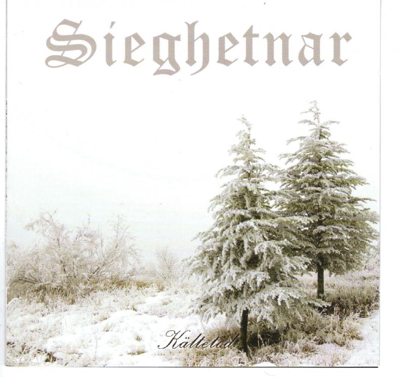 Sieghetnar - Kältetod CD