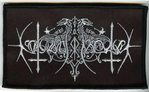 Nokturnal Mortum - Logo (Patch)