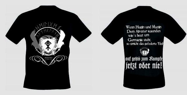 Hugin und Munin - auf gehts zum Kampfe (T-Shirt)