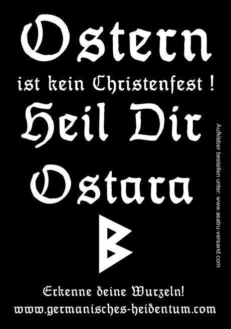 Ostara (Propaganda Sticker)