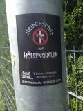 Heidenspass statt Höllenqualen (25x Propaganda Sticker)
