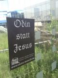 Odin statt Jesus (50x Propaganda Sticker)