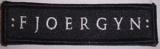 Fjoergyn - Logo (Patch)