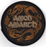 Amon Amarth - Dragons Circular (Patch)
