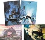 Der Ahnen Erbe - Set mit 8 Motivkarten