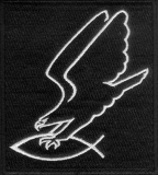Adler fängt Christenfisch (Patch)