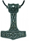 Thors Hammer Tribal Halskette