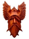 Odin (Holz Wandschmuck)