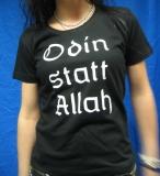 Odin statt Allah Mädel T-Hemd