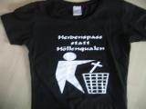 Heidenspass statt Höllenqualen Mädel T-Hemd