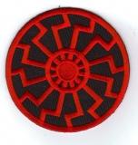 Schwarze Sonne (rot) Aufnäher