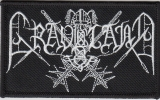 Graveland - Logo (Patch)
