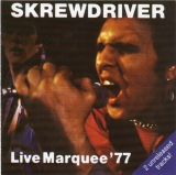 Skrewdriver - Live in Marquee 1977 CD