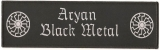 Aryan Black Metal (Patch)