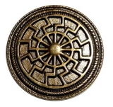 Black Sun Antique brass plated (Concho)