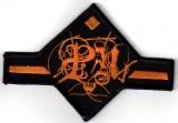 Pensées Nocturnes - Orange Logo (Patch)
