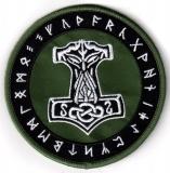 Mjoelnir Runes green (Patch)