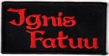 Ignis Fatuu - Logo (Patch)