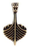 Drake Viking Ship (Pendant Antique Brass)
