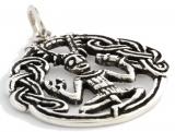 Celtic Cernunnos (Pendant in silver)