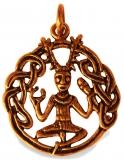 Celtic Cernunnos (Pendant in Bronze)