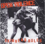 Open Violence - Skinhead Rules CD