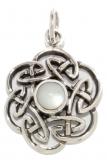 Nuada - Celtic knot pearl (Pendant in silver)