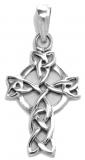 Cailin - Small Celtic Cross (Pendant in silver)
