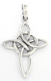 Aline - Celtic Cross (Pendant in silver)