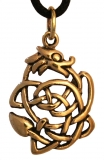 Dagan - Small Dragon (Pendant in Bronze)