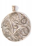 Large Triskele Amulet Danu (Pendant in Bronze)