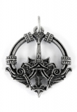 Haithabu (Pendant in antiqued silver)