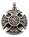 Cross of the Celts (Pendant in antiqued silver)