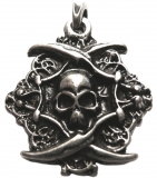 Pirates of the Caribbean (Pendant in antiqued silver)