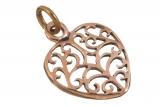 Mirja - Celtic Heart (Pendant in Bronze)