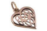 Amina - Celtic Heart (Pendant in Bronze)
